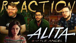 Alita: Battle Angel | Official Trailer REACTION!!