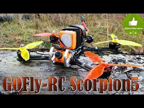 ✔ GOFly-RC Scorpion5 - FPV Квадрокоптер для Фристайла!