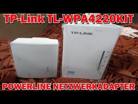 """TP-LINK TL-WPA4220KIT WLAN POWERLINE-NETZWERKADAPTER"" -Vorstellung"