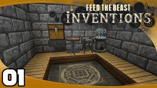 FTB Inventions - Ep. 1: Equivalent Exchange 3!   FTB Inventions Minecraft Modpack