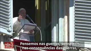Angelus: ser escravo das paixões leva à guerra. A Lei de Deus é liberdade