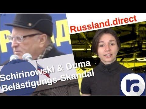 Eskalation: Pressekrieg nach Duma-Belästigungsskandal [Video]