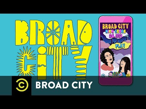 Broad City – Introducing High Score, a New Mobile Game