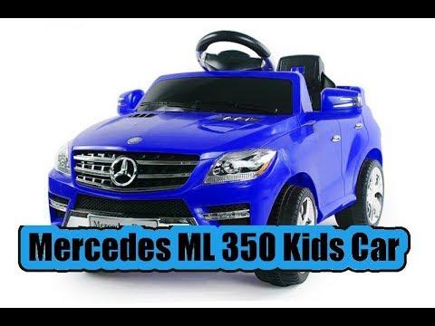 Mercedes ML350 Kinderauto Kiddy Car RC Toy Kinderfahrzeug Remote Conrol