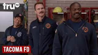 Tacoma FD - A Toy Drive for the Most Fortunate (Clip) | truTV