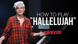 """How To Play """"Hallelujah"""" On The Piano"""