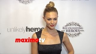 Courtney Hope Turner | 2014 Unlikely Heroes Awards Gala | Red Carpet