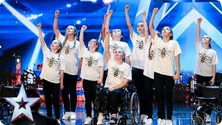 RISE have everyone in tears with their INCREDIBLE Manchester tribute   Auditions   BGT 2018
