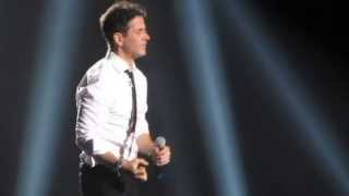 NKOTB - Joe McIntyre - Please Don't Go Girl - live at Staples Center 2013