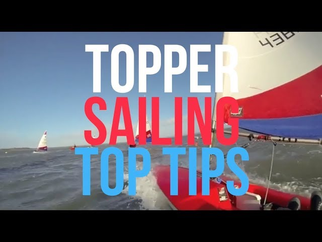 Topper Sailing Top Tips with British Sailing Team's Rhos Hawes - 5 skills