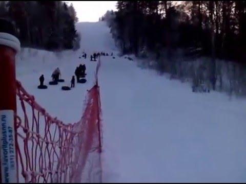 Видео: Видео горнолыжного курорта Золотая Гора в Кемеровская область