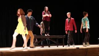 BEST COVER Teen Singing - Satisified - Live Hamilton Cover