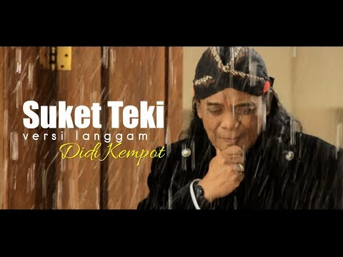 Didi Kempot - Suket Teki (Langgam) [OFFICIAL]