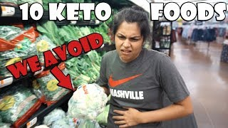 10 Keto Foods We Avoid Eating