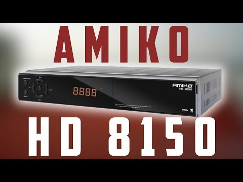 Decodificador Amiko HD8150 - Review y tutorial completo