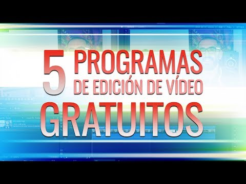 5 programas de edición de vídeo gratuitos