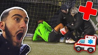 KEY PLAYER INJURY IN COLDEST MATCH EVER vs SOCCER ASSIST