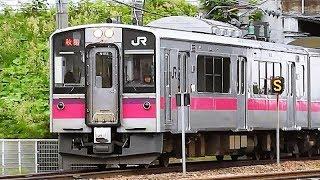 羽越本線で活躍する701系電車 - Commuter Train In Japan 2017