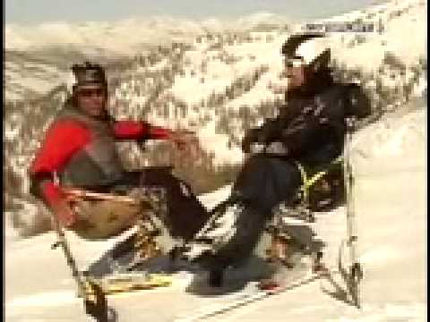 Preview video Sci disabili a Sestriere