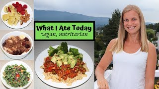 VEGAN NUTRITARIAN Meal Ideas // What I Ate Today