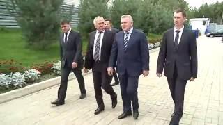 Вячеслав Шпорт оценил возможности Центра космической связи
