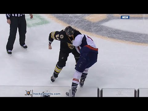 Adam McQuaid vs. Tom Wilson