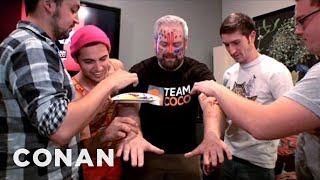 EXCLUSIVE: Walk the Moon's Interview Backstage At CONAN - CONAN on TBS