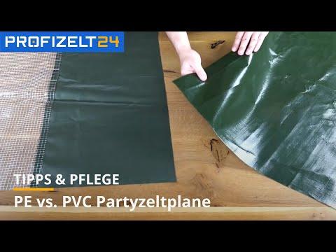 Ratgeber: PE- oder PVC-Plane für das Partyzelt?