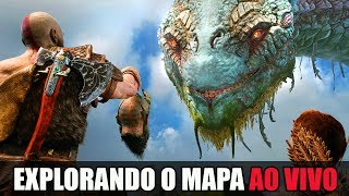GOD OF WAR EXTRAS - EXPLORANDO O MAPA - GAMEPLAY APÓS O ZERAMENTO