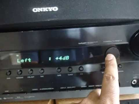 Onkyo HT-R550 HDMI 7 1 receiver video input test - смотреть