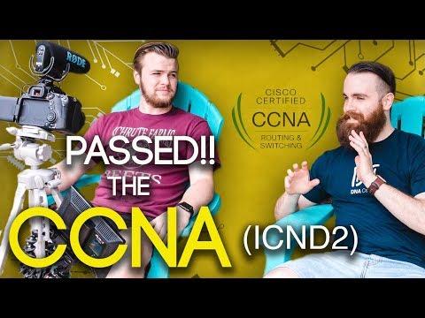 I PASSED THE CCNA EXAM!! - ICND2 Exam Tips - YouTube