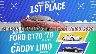 Forza Horizon 4 - How to win Ford GT70 1970 on Autumn Season Event | Forza 4 Xbox one gameplay