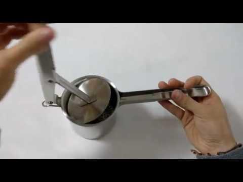 Gearmax® Prensador Prensa de patatas Prensa, Ofrece muy buenos resultados con poco esfuezo