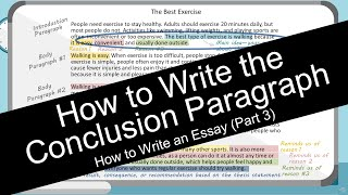 How to Write an Essay: Conclusion Paragraph (with Worksheet)