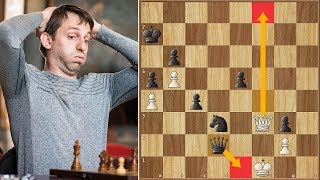 Unbelievable! Anand Survives Mate in 1 Against Grischuk | Your Next Move (Blitz) (2018)