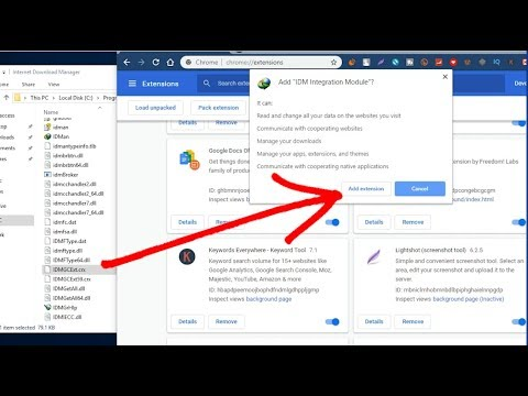 IDM EXTENSION FOR CHROME 6 32 - Download 2019 How To Use Idm