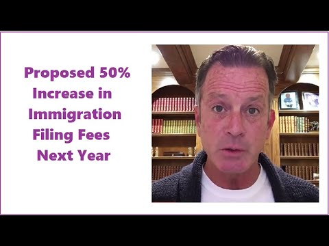 video thumbnail Immigration Fees To Increase?