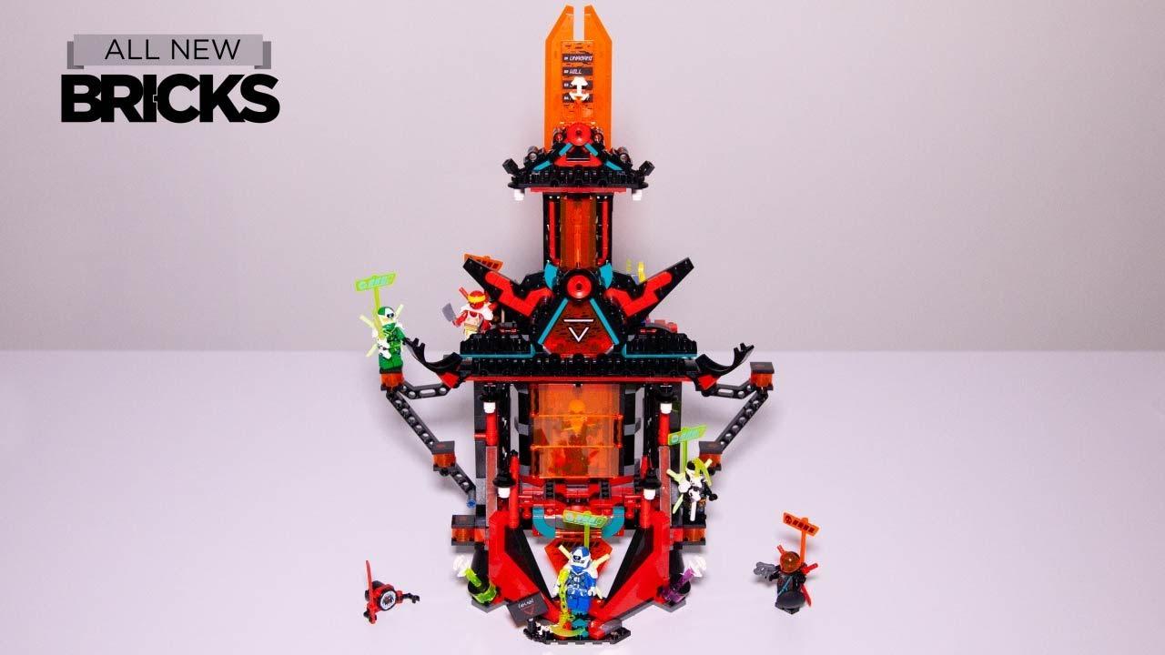 Lego Ninjago 71712 Empire Temple of Madness Speed Build
