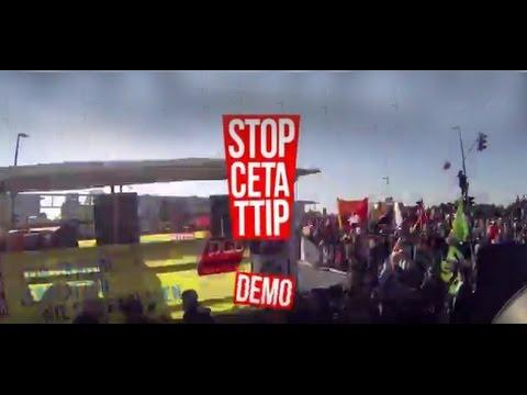 Am 17. September gegen CETA & TTIP auf die Straße gehen!