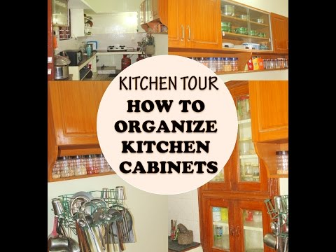 Indian Kitchen Tour - How to Organize Kitchen Cabinets