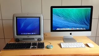 OVERVIEW: Apple iMac G3 vs iMac (Late 2012)