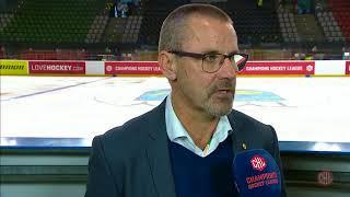 GKS Tychy vs Skellefteå AIK 1:8 | Postgame interviews