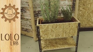 Video spots for LoloLab: Industrial jardiniere