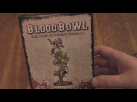 Unboxing of The Blood Bowl Troll