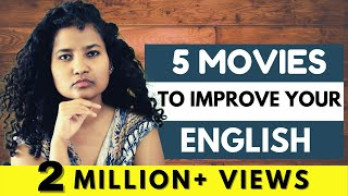 Top 5 Movies to Learn Spoken English!