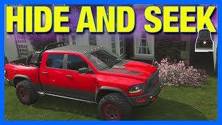 Forza Horizon 4 Online : HIDE AND SEEK!! (Fortune Island Edition)