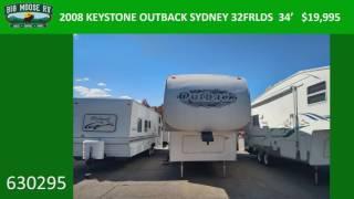 2008 KEYSTONE OUTBACK SYDNEY 32FRLDS – 34′ – 630295