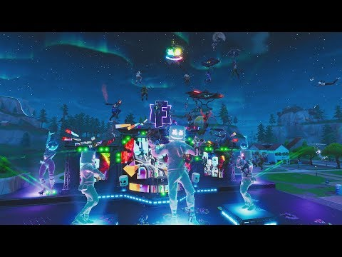 Download Marshmello Holds First Ever Fortnite Concert Live at Pleasant Park Mp4 HD Video and MP3