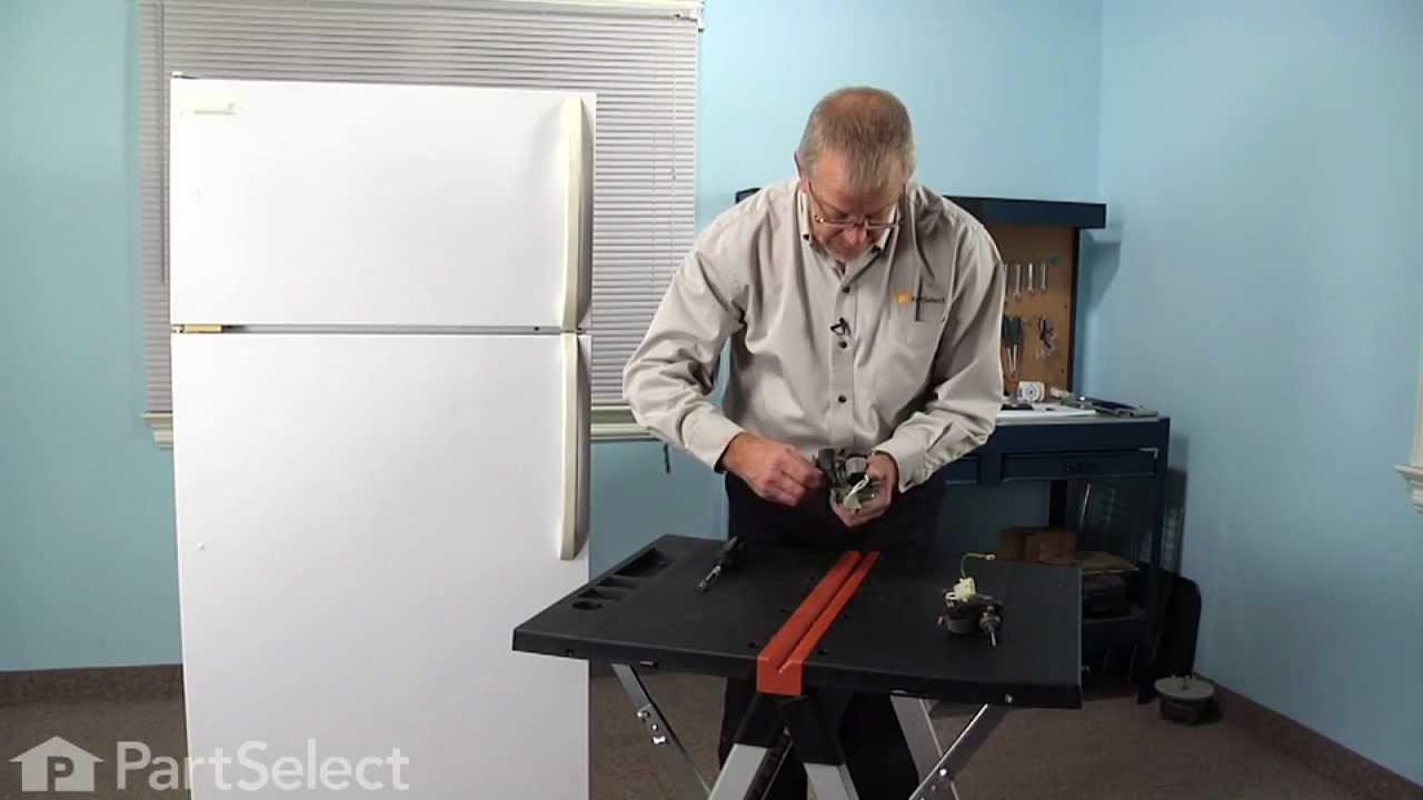 Replacing your Frigidaire Refrigerator Evaporator Fan Motor Kit