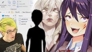 Secret Doki Doki Characters in the files!?   Doki Doki Literature Club Secrets